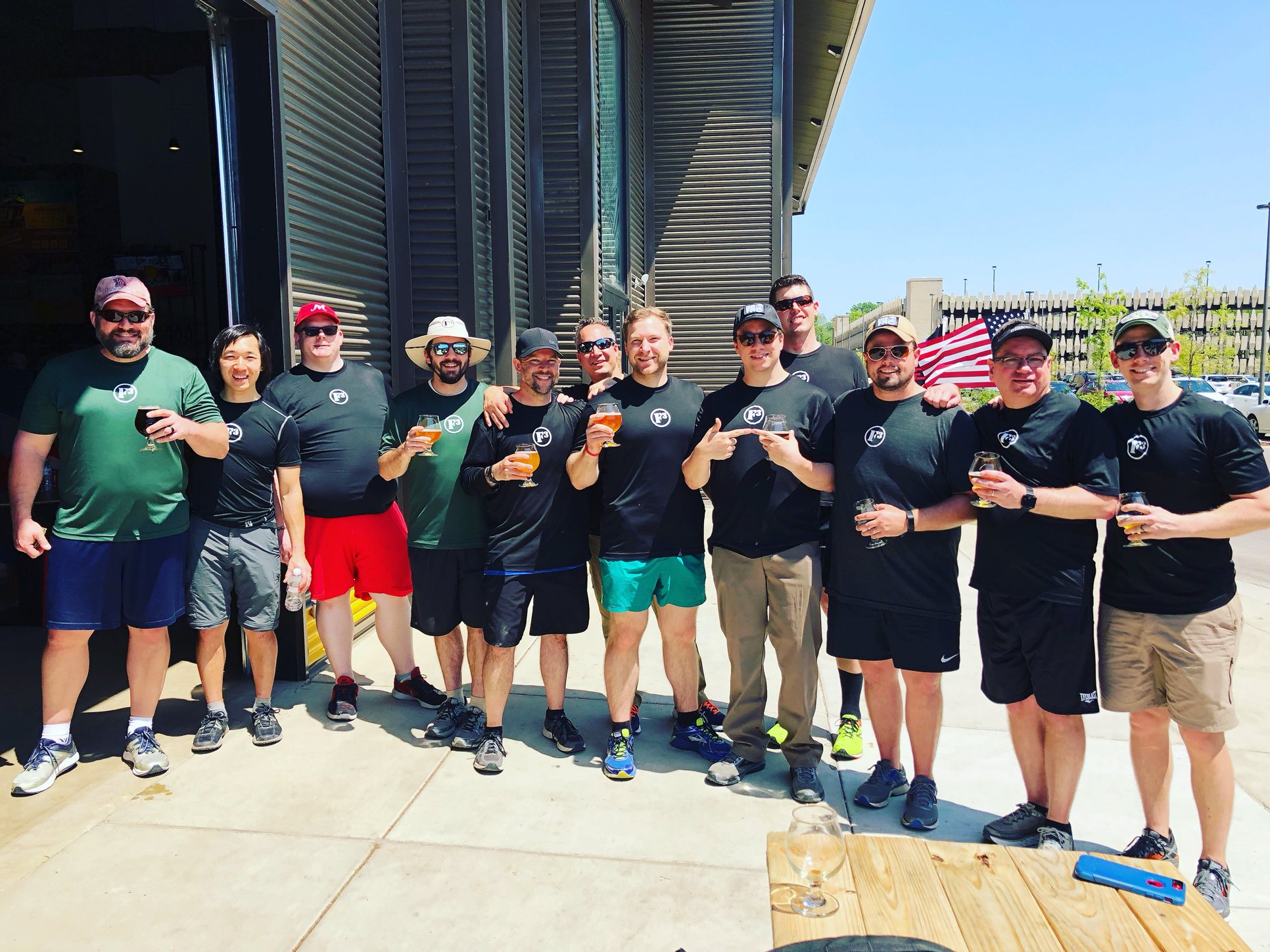 F3 Memphis Pax during the inaugural BrewRuck901 | April 28, 2018